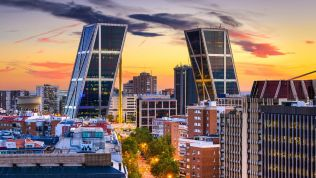Madrid: KIO Towers