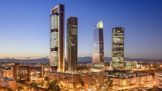 Madrid: Four Towers Business Area